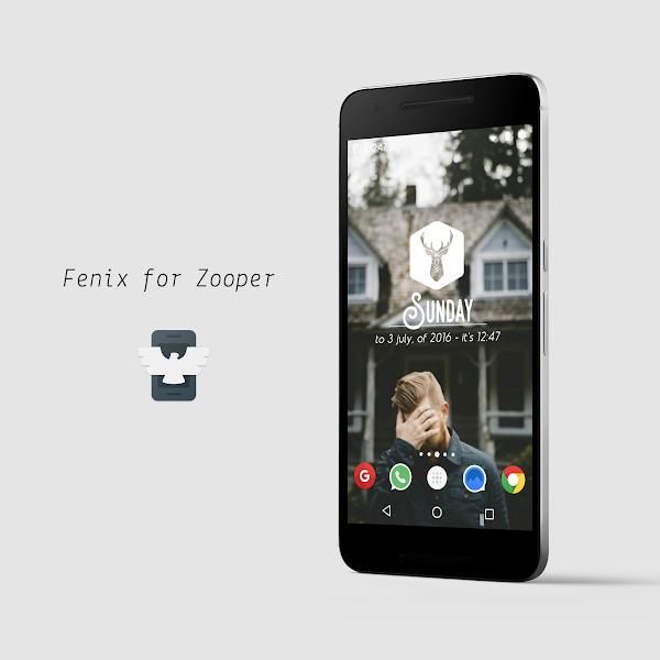 Fenix for Zooper v1.0