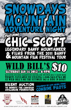 Photo: SnowDays Mountain Adventure Night  Featuring Chic Scott Legendary Banff Mountaineer.