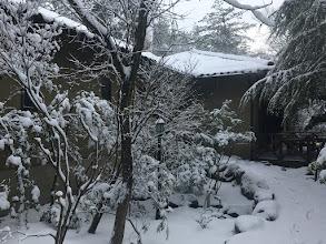 Photo: 【研修室のある家】の雪景色