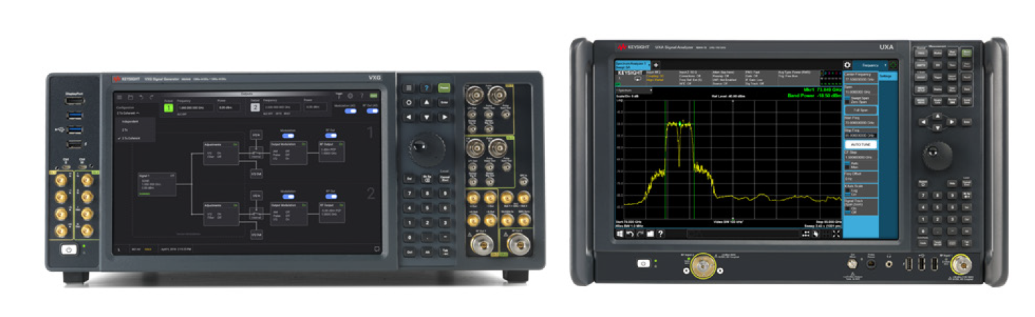 Figure 1. Keysight's 5G R&D Test Bed solution