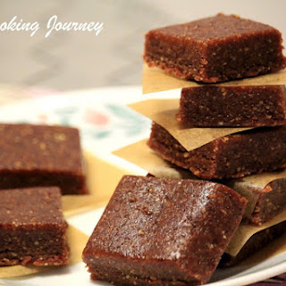 Energy Bar Made With 3 Ingredients – No Cook Energy Bar