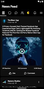 Bluer for Facebook - Downloader No Last Seen