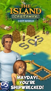 The Island Castaway: Lost World MOD 1.6.601 (Unlimited Money) Apk + Data 1