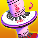 Helix Piano Tiles: Music Ball Jump icon