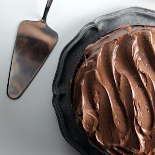 The Ultimate Vegan Chocolate Cake.