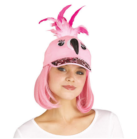 Keps, flamingo