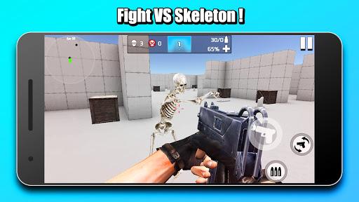 Mr Skeleton: Gun Shooting screenshots 3