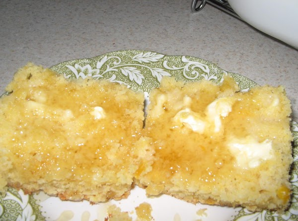 Pour into prepared pan. Sprinkle cinnamon sugar over top. Bake for 30 minutes in...
