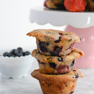 Mixed Berry Breakfast Muffins