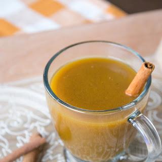 Pumpkin Spice Cocktail.