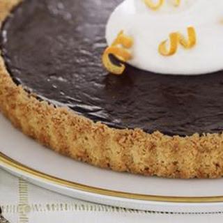 Chocolate Macaroon Tart
