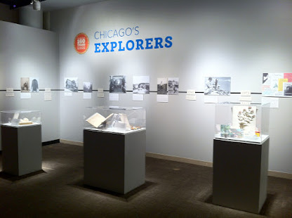 Chicago's Explorers timeline and exhibit