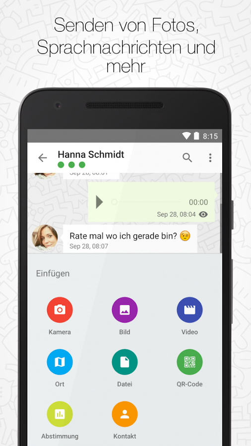 Threema – Screenshot
