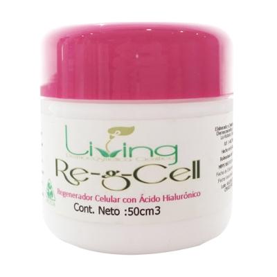 crema facial living gel regenerador celular 50ml