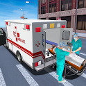 City Ambulance Rescue Mission & Driving Game 2020 icon