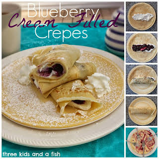 Cream Filling Crepes Recipes.