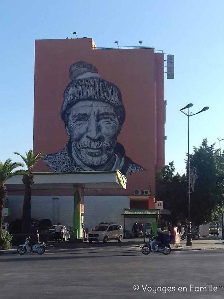Marrakech, quartier de la gare