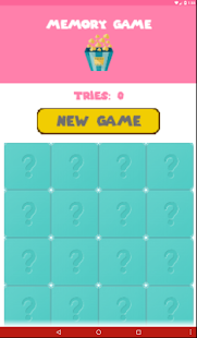 MemoryGame- screenshot thumbnail