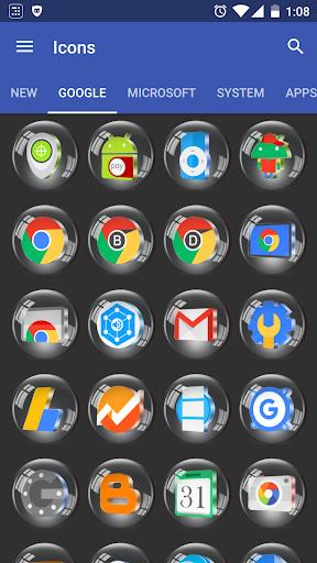 Glass 3D Icon Pack  screenshots 3