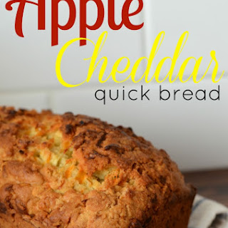 Apple Cheddar Quick Bread