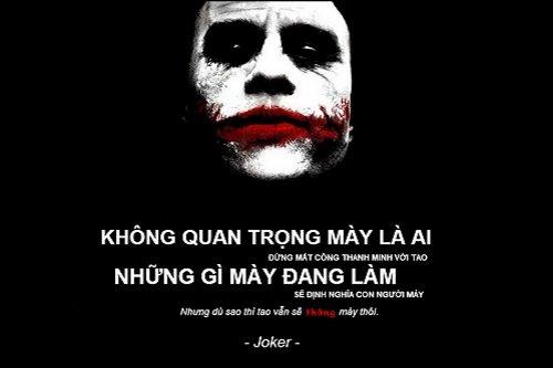 Những câu nói hay của Joker với triết lý thâm sâu-3