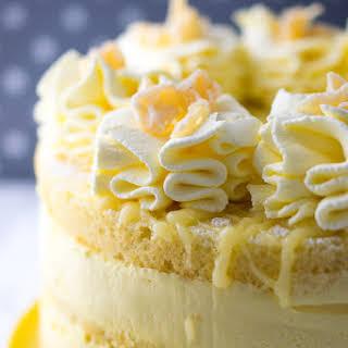 Lemon Cheesecake Mousse Cake.