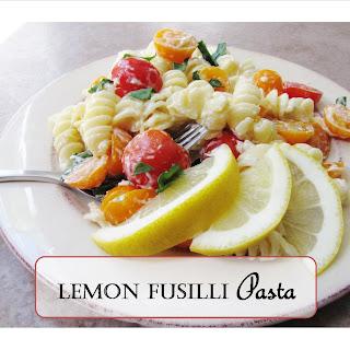 Lemon Fusilli