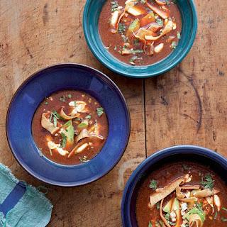 Ancho Chile Soup.