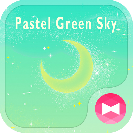 Fairy-tale Wallpaper Pastel Green Sky Theme