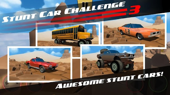 Stunt Car Challenge 3 1.17 (Mod Money / AdFree) Apk + Data