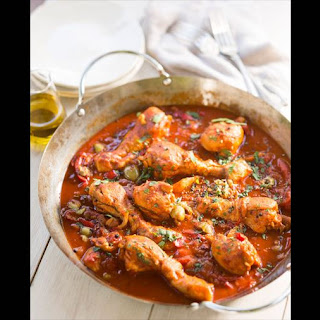 Spanish-style Chicken Casserole.