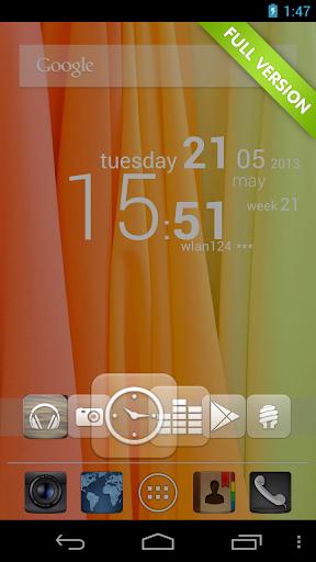 CircleLauncher light screenshot 3