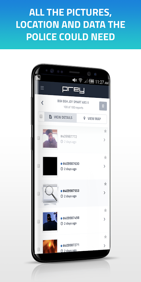 Prey Anti Theft: Find My Android & Mobile Security- screenshot