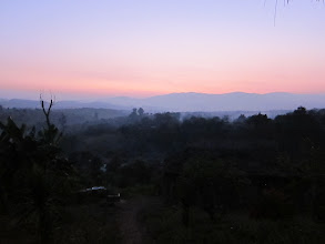 Photo: Purple haze at dusk