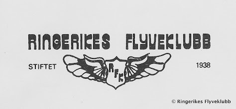 Photo: Logo Ringerikes Flyveklubb 1938