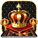 Golden Crown King Launcher Theme icon
