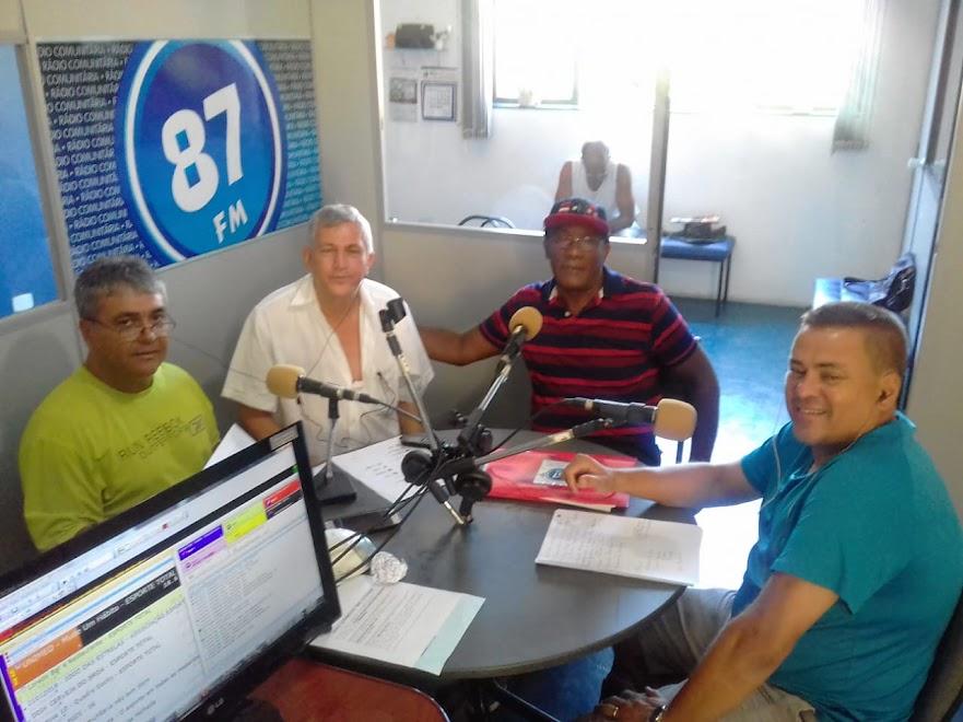 Donacio Silva, Jota Araújo, Luiz Antonio Neto (Neto) e Sergio Borges