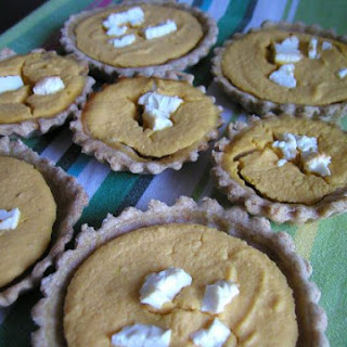 Pumpkin Mini Tarts
