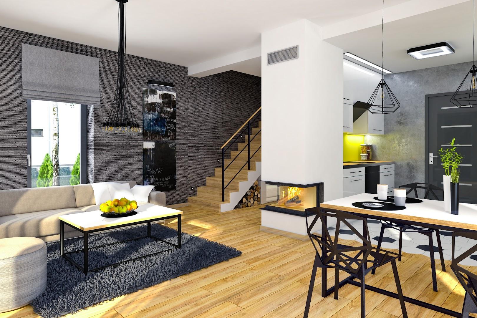 Projekt Domu Eco 4 Z Garażem 1 St A Txu 361 1041m²