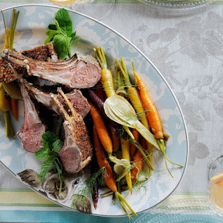 Rack of Lamb with Herb and Mustard Crust Recipe