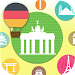 Learn&Read German Travel Words Icon