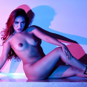 Coloured by ObjeKtiva Artphoto - Nudes & Boudoir Artistic Nude ( model, nude, coloured, nudeart, beauty, seminude, dhonna, sensual, glamour, colorlight, sexy, artnude, hot, feminine )
