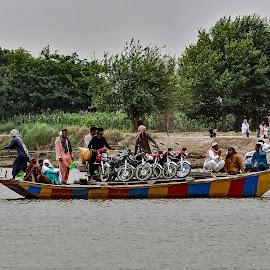 by Mohsin Raza - Transportation Boats