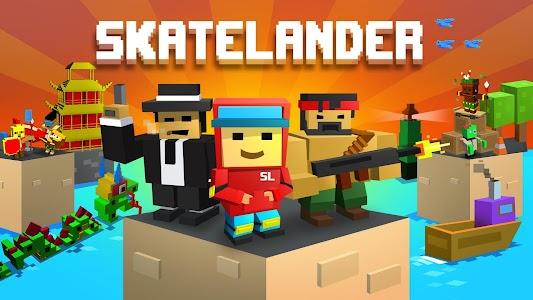 Skatelander: Skateboard life v40 (Mod)