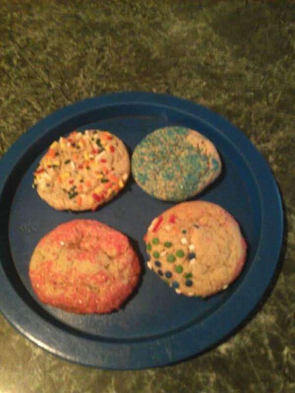 Rainbow Snickerdoodles