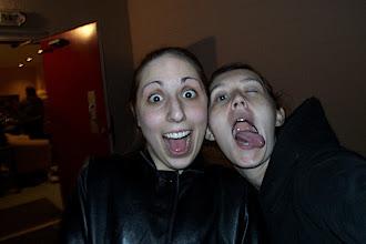 Photo: Rachel and me looking very attractive.