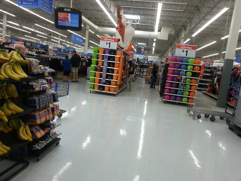 Photo: I love Halloween! When I walked into Wal-Mart I was greated with all of their Halloween decorations and costumes.