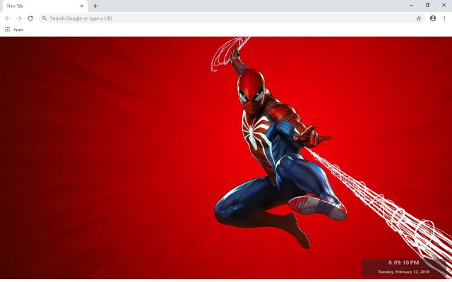 Spiderman New Tab & Wallpapers Collection