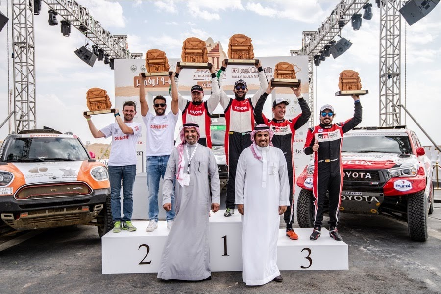 アロンソが2019サウジアラビアラリーで3位入賞