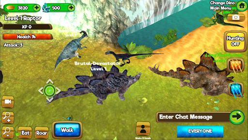 Dino World Online - Hunters 3D  screenshots 13